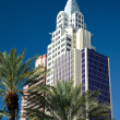 Stock Photo: New York New York hotel and casino Las Vegas