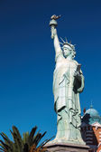 Replica Statue of Liberty at New York New York hotel and casino — Foto Stock