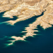 Stock Photo: Aerial view of Lake Mead