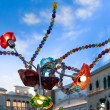 Stock Photo: Arty lights in St Mark's square VenetiHotel Las Vegas