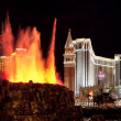Stock Photo: Volcano at Mirage Hotel Las Vegas
