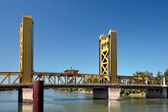 Sacramento bridge — Stock Photo