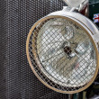 Stock Photo: Old Bentley Headlamp