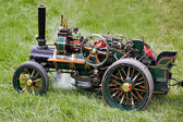 Toy traction engine at Rudwick Steam Fair — Stock Photo