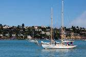 Approaching Sausalito marina — Stock Photo