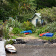 Stock Photo: Bungalow at Kerikeri