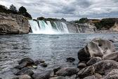 Maruia waterfall — Stock Photo
