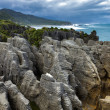 Stock Photo: Pancake rocks near Punakaiki