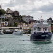 Stock Photo: Dartmouth Castle pleasure boat
