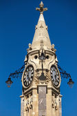 Clock tower in Torquay — Stock Photo