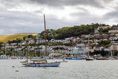 View across the River Dart towards Kingswear — Stock Photo