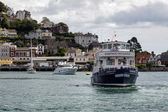 Dartmouth Castle pleasure boat — Stock Photo
