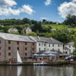 Stock Photo: View of Steam Packet Inn in Totnes