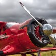 ストック写真: Red Rockette at Goodwood Revival