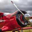 Stockfoto: Red Rockette at Goodwood Revival