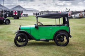 Austin Seven parked on the airfield at the Goodwood Revival — Stock Photo