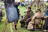 WW2 re-enactment at Goodwood Revival — Stock Photo