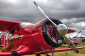 The Red Rockette at Goodwood Revival — Stock Photo