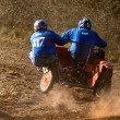 Sidecar motocross at Goodwood Revival — Stock Photo #39133391