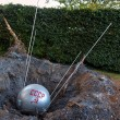 Стоковое фото: Sputnik lands at Goodwood Revival