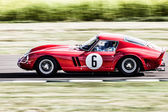 Vintage racing at Goodwood — Stok fotoğraf