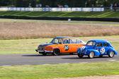 Vintage racing at Goodwood — Stock Photo