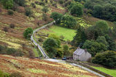Cottage in Snowdonia National Park — Stock Photo