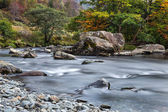 The Glaslyn River in autumn — Foto Stock