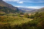 Valley in Snowdonia National Park — Stock Photo