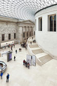 The Great Court at the British Museum — Stock Photo