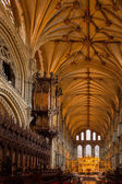 Interior view of Ely Cathedral — Stok fotoğraf