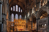 An altar at Ely Cathedral — Foto de Stock
