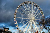 Ferris wheel at Winter Wonderland Hyde Park — Stock Photo