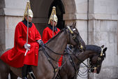 Lifeguards of the Queens Household Cavalry — Stock Photo