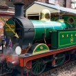 Golden Arrow at Sheffield Park station — Stock Photo #39331419