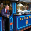Bluebell Steam Engine at Sheffield Park Station — Stock Photo #39331727