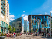 Alliance sculpture Cardiff City Centre — Stock Photo