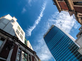 New office building in the City of London — Zdjęcie stockowe