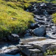 Rapids in Glacier National Park next to the Going to the Sun Roa — Stock Photo #39366491