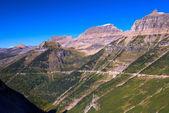 Scenic view of Glacier National Park — Stock Photo