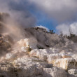 Stock Photo: Mammoth Hot Springs