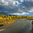 Gros Ventre River — Stock Photo #39388715