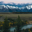 Stock Photo: Snake River Overlook