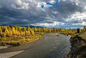Gros Ventre River — Stock Photo