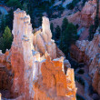 Stock Photo: Bryce Canyon sculpted by elements