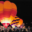 Evening balloon festival in Page Arizona — Stock Photo #39408497