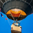 Stock Photo: Hot air ballooning