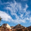 Stock Photo: Zion cloudscape