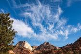 Zion cloudscape — Stock Photo