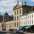 Stock Photo: View along main street in Oxford